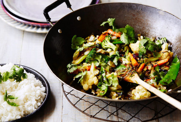 Veggie Stir-Fry with Oyster Sauce